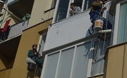 Наружное утепление балкона в Киеве